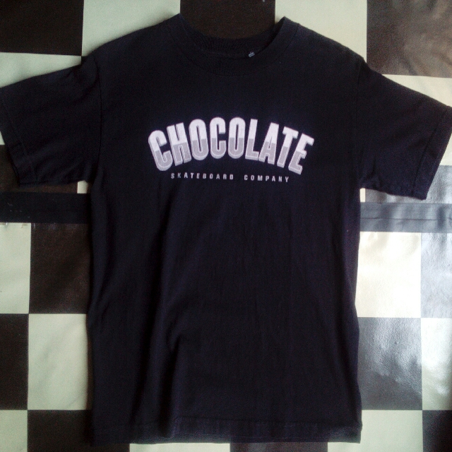 Tshirt Chocolate Skateboard