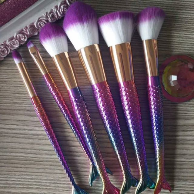 Unicorn Make Up Brushes