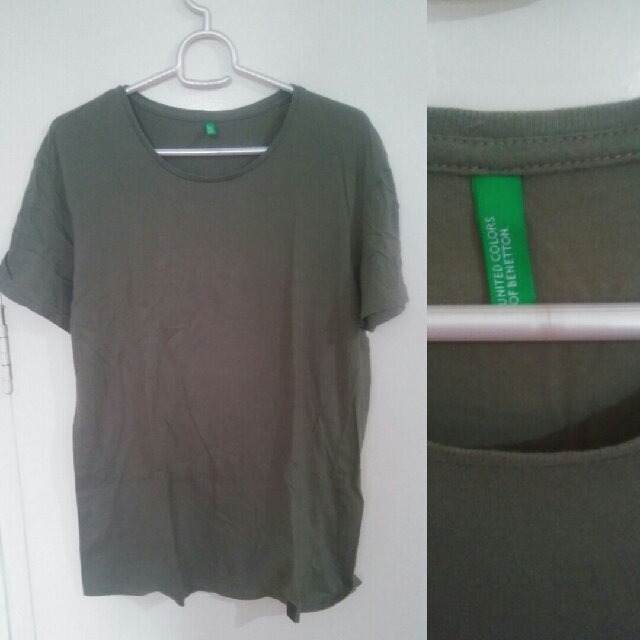 United Colors of Benetton Green Shirt