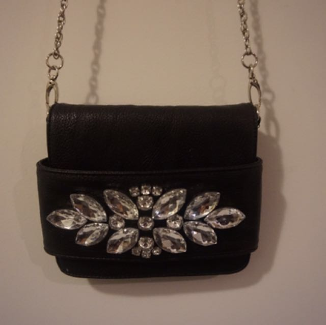 Urban Outfitters Black Diamond Purse