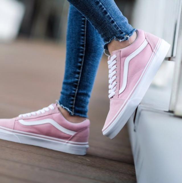 Vans Old Skool Pink 限量粉色帆布鞋