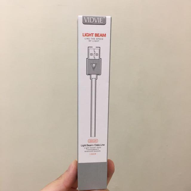 VIDVIE Micro usb充電線1m