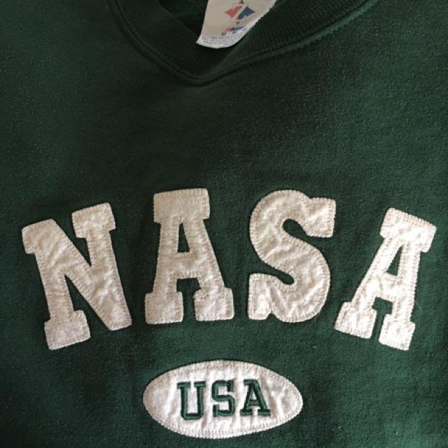 Vintage NASA jumper