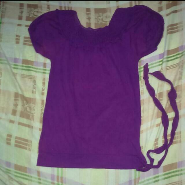 violet top