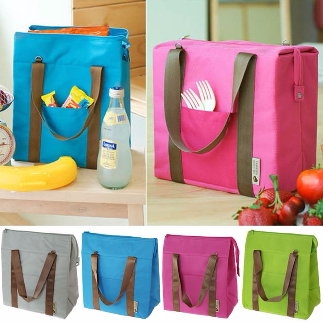 Waterproof Large Size Shoulder Lunch Bag B12703