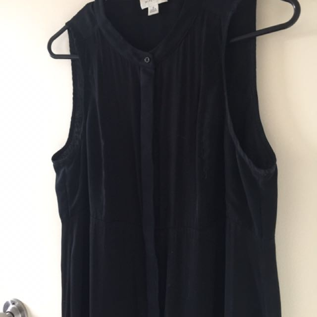 Witchery button sheer dress