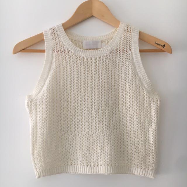 Zimmermann Gemma Crop Knit Size 1