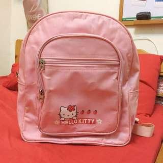 三麗鷗 凱蒂貓 hello kitty 粉紅後背包