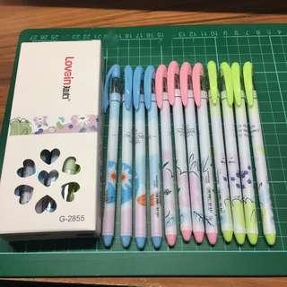 G-2855 Gel Ink Pens
