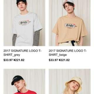韓潮牌 oioi 2017 Tshirt