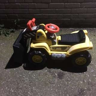 Fisher price bulldozer