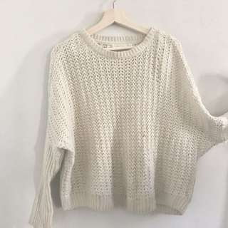 creamy color sweater :bought from plenty
