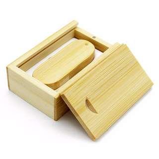 Wood Thumb Drive with Box (4GB/8GB/16GB/32GB/64GB)