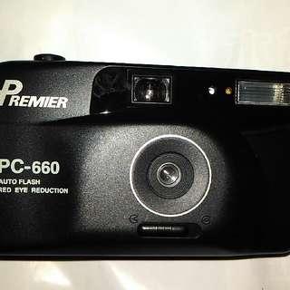 PREMIER底片相機,底片相機,古董相機,相機,攝影機~PREMIER PC660底片相機(外觀很新,功能正常)(已售出,待貨中)