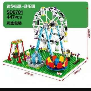 🚚 【全新】森寶遊樂園積木