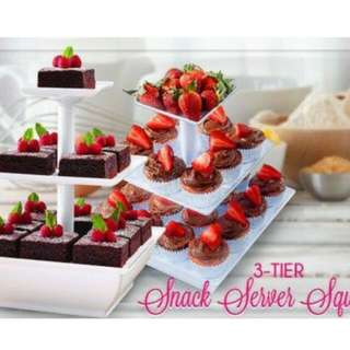 Pre Order Snack Server/3layer Cupcake Stand