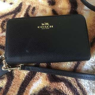 Authentic Coach wallet