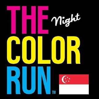 2 Regular Tickets to The Color Run Singapore
