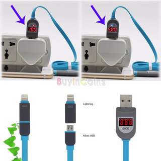 Samsung + Iphone 2 in 1 Cable (Digital)