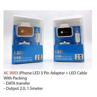 IPhone Cable (LED Light)