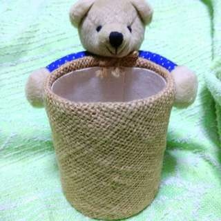 Adorable Teddybear Basket Gift