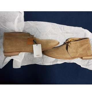 MANGO MNG MAN Zapato Boot / Chukka Brown Suede (Negotiable)