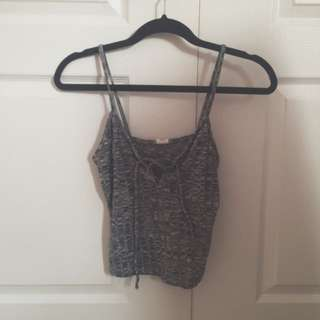 Urban Planet Lace-Up Tank