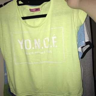"YONCÈ ""I Woke Up Like This"" Crop Top"