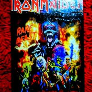 Kayu Deco Iron Maiden Handmade..