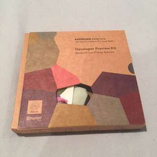 Estimote developer kit $100 value