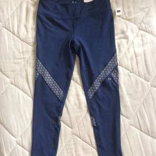 Gapfit blue leggings medium rise