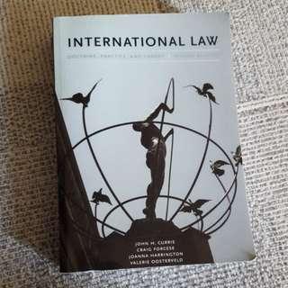 POL340Y1 International Law Textbook