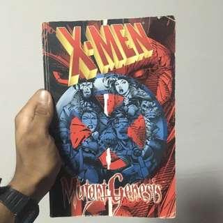 X-Men Mutant Genesis By Chris Claremont and Jim Lee