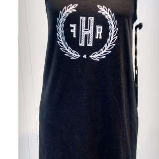 Huffer black singlet dress-10