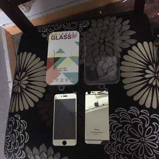 Tempered glass gold full