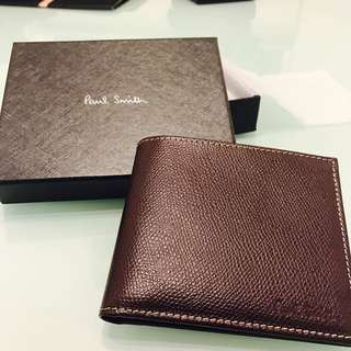 Paul Smith Wallet,紫啡色卵石,100%real And New*