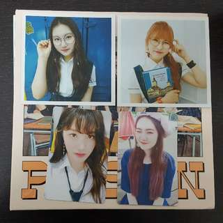[WTT/WTS] PRISTIN SCHXXL OUT PHOTOCARDS