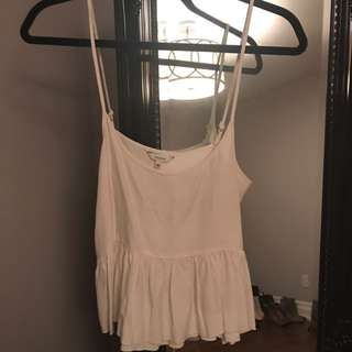 Aritzia Talula white blouse