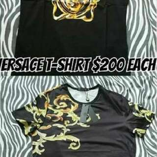 Burberry & Versace t-shirts