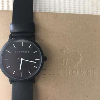 The Horse - Black/Black Watch