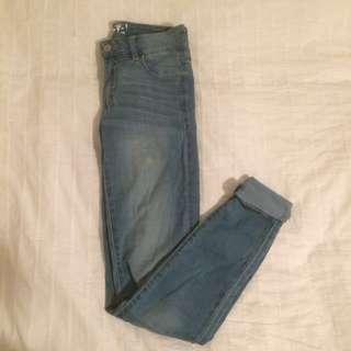 Garage High Waisted Jeans