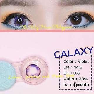 galaxy contact lens