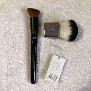H&M Brush Set *Kabuki and Angled