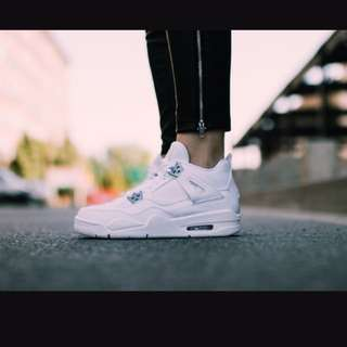Jordan retro 4 pure money