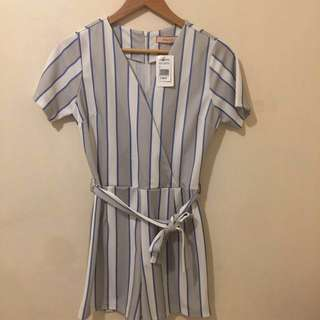 Blue Romper (Bnew with tag)
