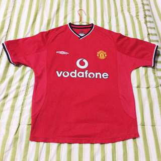 Jersey Manchester United Original Home Season 00/02