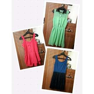 Dresses Bundle 3 pcs