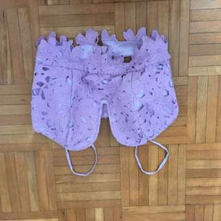 Cropped Bustier Top