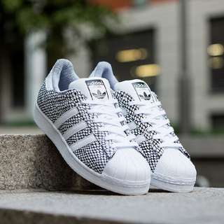 Original Adidas Superstar snake pack size UK10