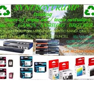 buyer ofr empty ink toner overstocked cartridges